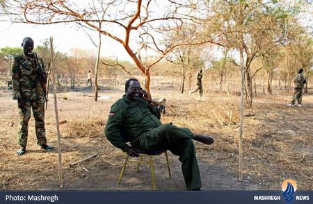 رهبر شورشیان جنوب سودان