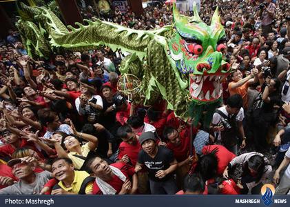 جشن سال نو چینی در هنگ کنگ