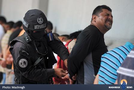دستگیری اراذل و اوباش در السالوادور