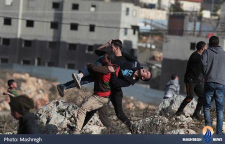 کشته و زخمی شدن دهها فلسطینی در جریان درگیری نیروهای رژیم اشغالگر صهیونیستی در رام الله