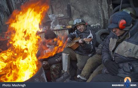 معترضان اوکراینی