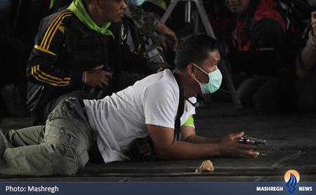 درگیری شدید میان معترضان ضددولتی با نیروهای امنیتی در بانکوک