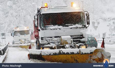 بارش شدید برف در شمال ایتالیا