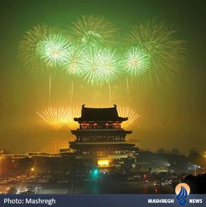 مراسم سال نو چینی در شانگهای