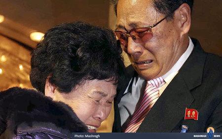 دیدار خانوادههای جدا مانده دو کره