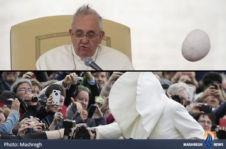 دردسرهای باد برای پاپ