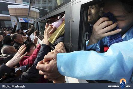 خداحافظی خانوادههای جدامانده دو کره