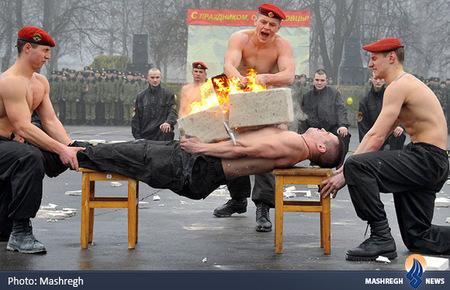 نمایش نیروهای ویژه در بلاروس