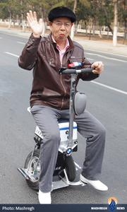 اختراع دوچرخه تعادلی در چین