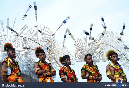 قبایل آنگامی در هند