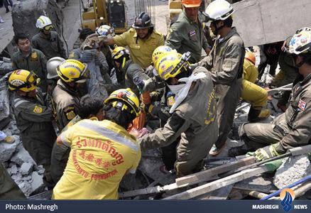 ریز ساختمان بیمارستان در حال ساخت در بانکوک