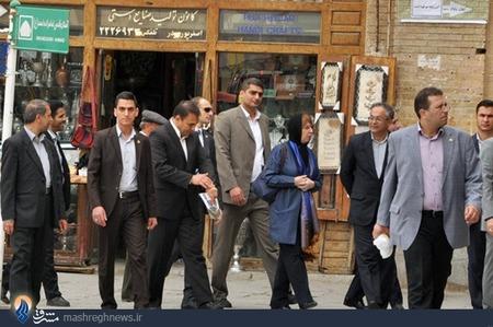 سفر پرحاشیه کاترین اشتون به ایران