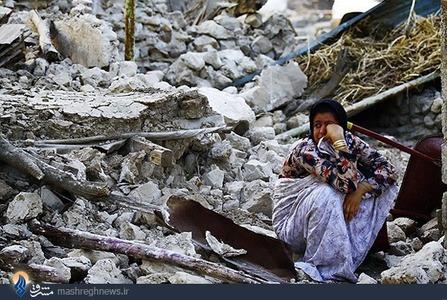 وقوع زلزله 6.1 ریشتری در شهرستان دشستان بوشهر