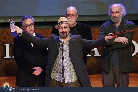 انتخاب رضاعطاران به عنوان بهترین بازیگر مرد در جشنواره فیلم فجر