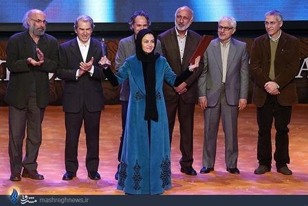 انتخاب مریلا زارعی به عنوان بهترین بازیگر زن در جشنواره فیلم فجر