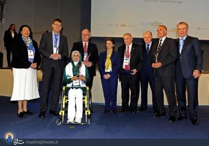 انتخاب زهرا نعمتی به عنوان برترین ورزشکار معلول در سال 2014