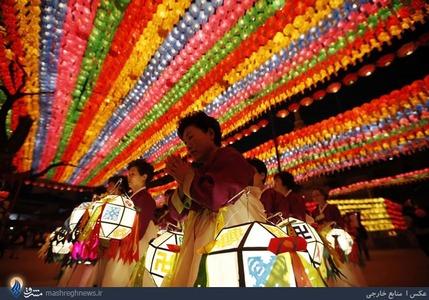 جشنواره فانوس در کره