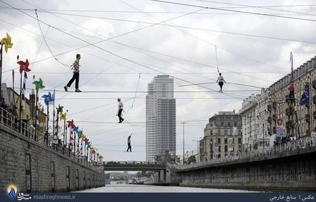 جشنواره بند بازی در بروکسل