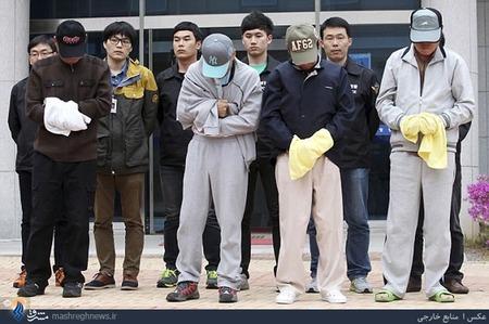 بازداشت تمامی خدمه کشتی غرق شده کرهای به اتهام سهل انگاری