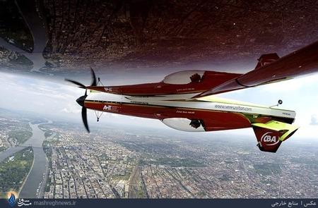 مسابقات نمایش هوایی در شهر بوداپست مجارستان