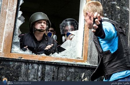 ادامه ناآرامیها در شرق اوکراین