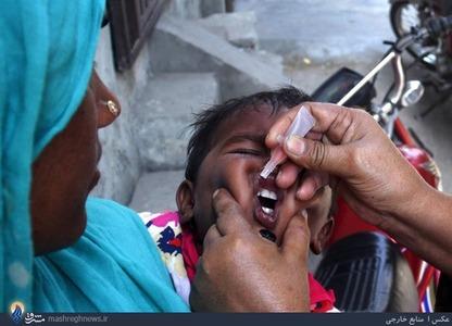 طرح سراسری واکسیناسیون فلج اطفال در پاکستان
