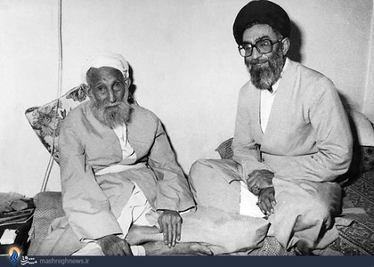 آیت الله سید جواد حسینی خامنهای پدر مقام معظم رهبری