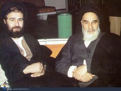 امام خمینی و سید احمد خمینی