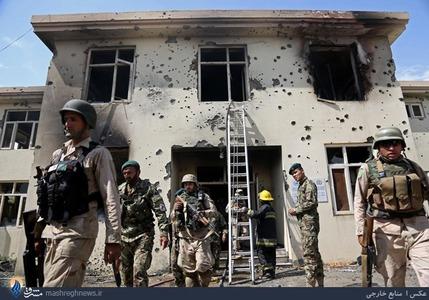 حمله تروریستی نیروهای طالبان به یک ساختمان دولتی در جلال آباد افغانستان