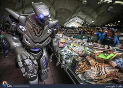 استفاده آزمایشی یک فروشگاه از ربات فروشنده در مسکو