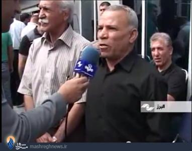 محمد نصیری پیشکسوت وزنه برداری