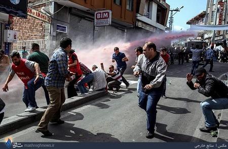 ادامه اعتراضات ضددولتی مردم ترکیه