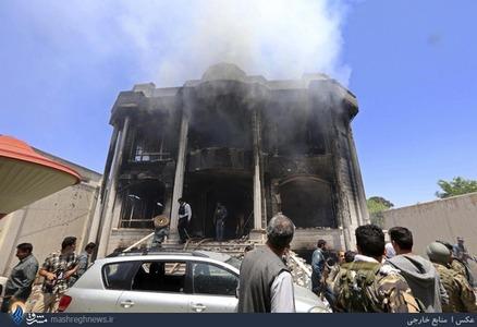 درگیری نظامیان افغان با نیروهای مسلح مقابل سفارت هند در هرات