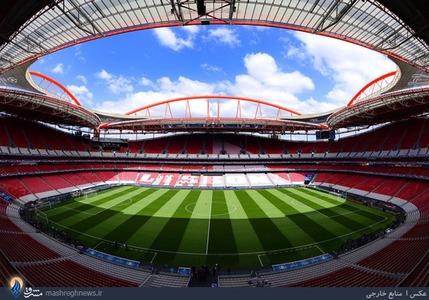 ورزشگاه دالوش شهر لیسبون میزبان فینال لیگ قهرمانان اروپا میان تیمهای رئال و اتلتیکو مادرید