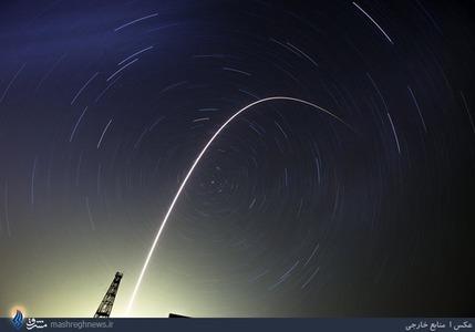پرتاب موشک سایوز FGاز ایستگاه فضایی قزاقستان