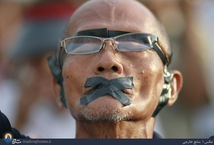 ادامه اعتراضات مردم تایلند علیه کودتاچیان