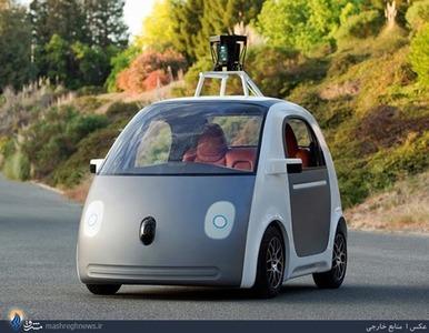 ساخت خودروی بدون نیاز به راننده توسط شرکت گوگل
