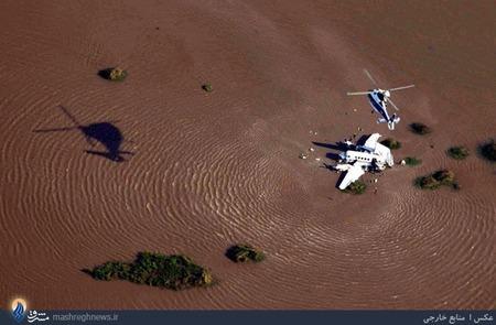 سقوط یک هواپیمای شخصی به رودخانه ای در اروگوئه و کشته شدن 5نفر از سرنشینان آن