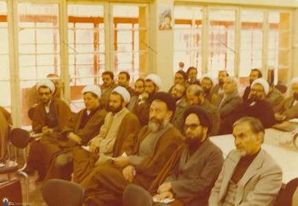 برگزاری جلسات هماهنگی حزب جمهوری اسلامی در ساختمان اصلی حزب در سرچشمه تهران