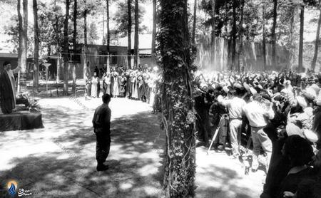 آغازین دیدارهای رهبرمعظم انقلاب در محوطه نهاد ریاست جمهوری