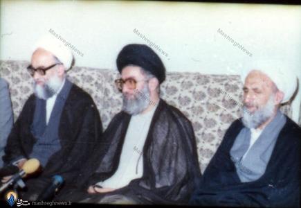 مراسم بیعت اعضای شورای نگهبان با رهبرمعظم انقلاب