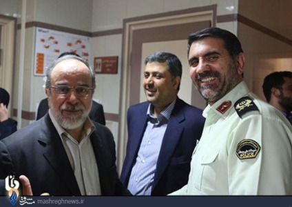 سردار ساجدینیا فرمانده پلیس تهران بزرگ