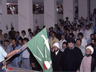 لحظات آغازین مراسم بزرگداشت دکتر علی شریعتی دربیروت