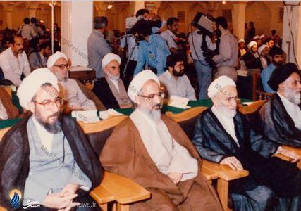 کنگره امام رضا(ع)، در کنار آبات جوادی آملی، امینی و مجتهد شبستری