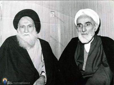 1359/ مشهد، درکنار آیت الله العظمی سید عبدالله شیرازی