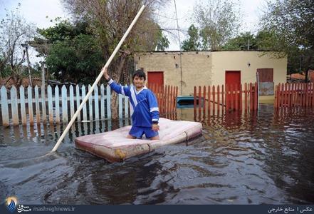 جاری شدن سیل در بیشتر مناطق پاراگوئه