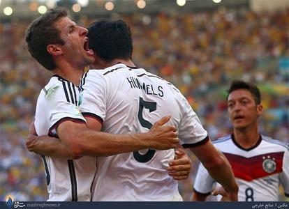 فرانسه 0 - آلمان 1