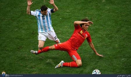 آرژانتین 1 - بلژیک 0
