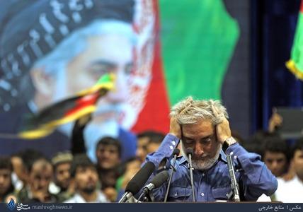 سخنرانی عبدالله در جمع هوادارانش در کابل
