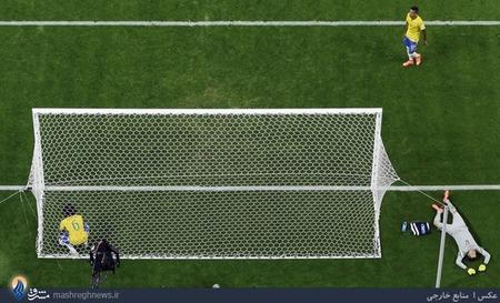 شکست سنگین تیم ملی برزیل مقابل آلمان در نیمه نهایی جام جهانی